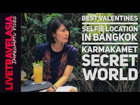 Valentine's Day 2018 in Bangkok, Karmakamet Secret World Diner, Best Selfie Location