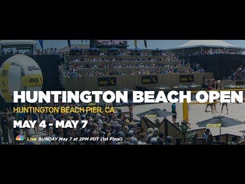 2017 AVP Huntington Beach Open Women's Semi Final Day/Hochevar vs Pavlik/Ross