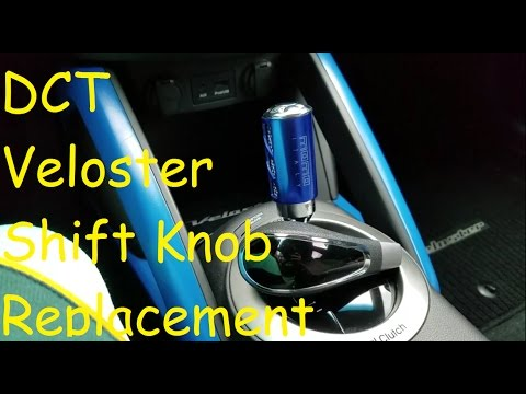 How To: Shift Knob Replacement DCT Veloster