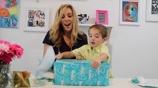 Pampers Easy Ups Unboxing With My Toddler! #PampersEasyUps