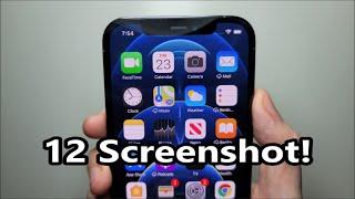 iPhone 12 / 12 Pŗo Max / Mini How to Screenshot!