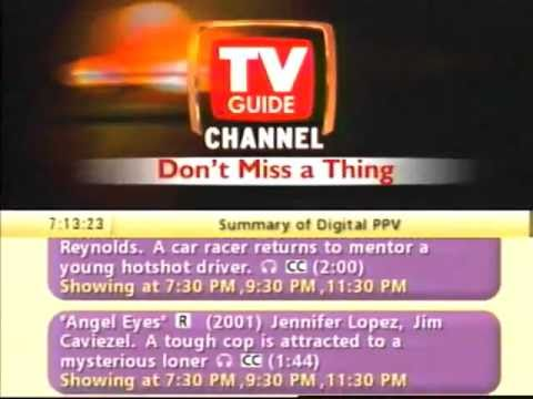 2002 Sneak Prevue TV Guide Promo 2