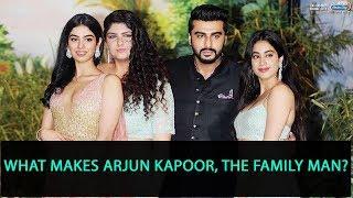 "Arjun Kapoor on Janhvi and Khushi: ""Unfortunate circumstances brought us together"""