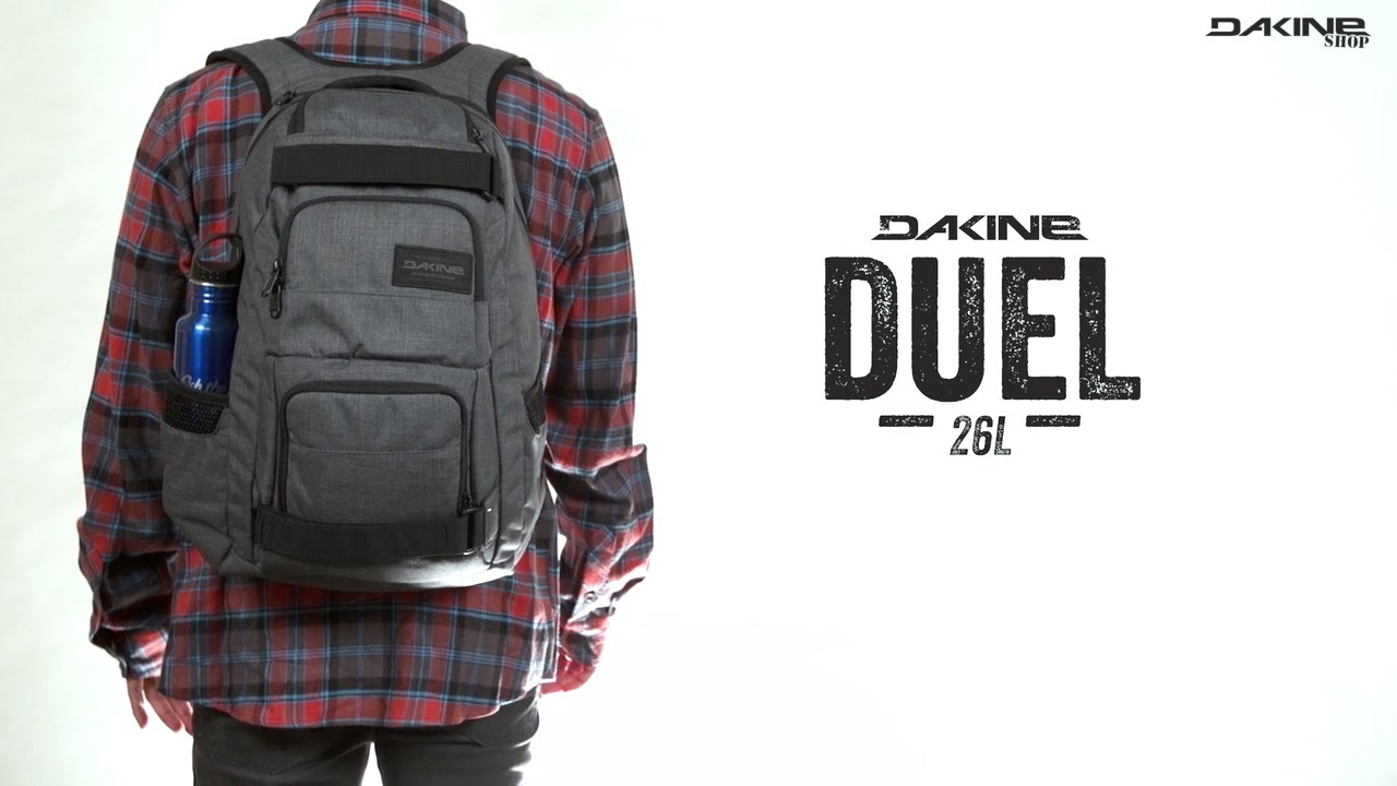 The Dakine Duel 26L Street & School Backpack - YouTube