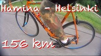 Hamina - Helsinki maantiepyörällä