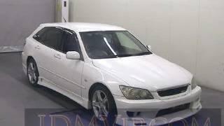 видео Toyota Altezza Wagon