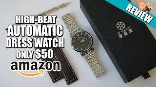 A Perfect Dress Watch for $50 - Starking High-Beat Automatic Review