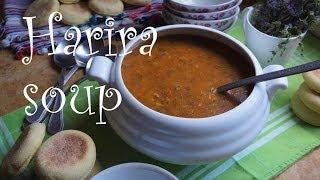 الحريرة المغربية المطبخ المغربي  Harira Moroccan Soup Moroccan Cuisine