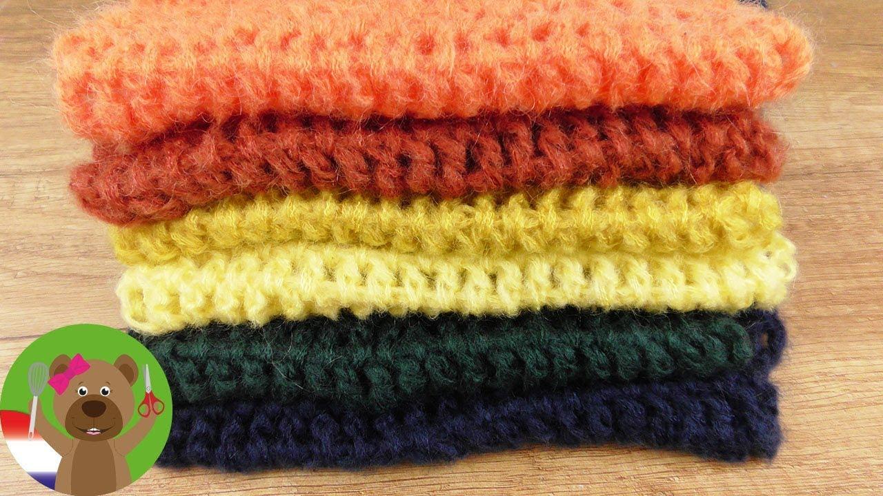 Kleurrijke Sjaal Voor De Herfst Haken Superzacht Makkelijk