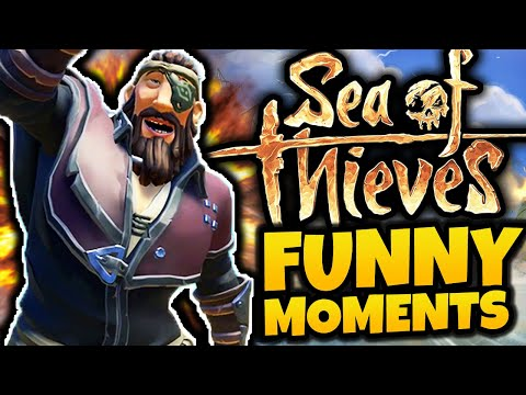 OH HE'S A PIRATE! - Sea of Thieves Funny Moments
