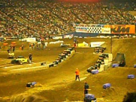 Montreal Supercross 2008 Freestyle
