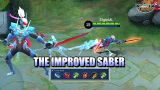 SABER'S IMPROVED GAME PLAY - IS IT ENOUGH IN RANKED GAMES? MLBB