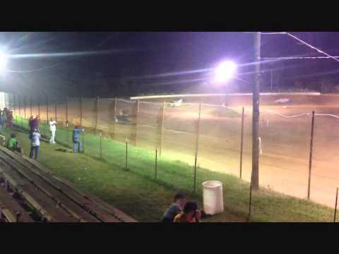 Ledford Racing.  West Siloam Speedway. 8-31-13.