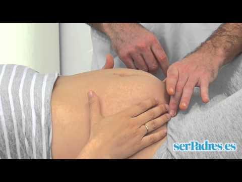 Ejercicios en el embarazo: estabilizar la pelvis