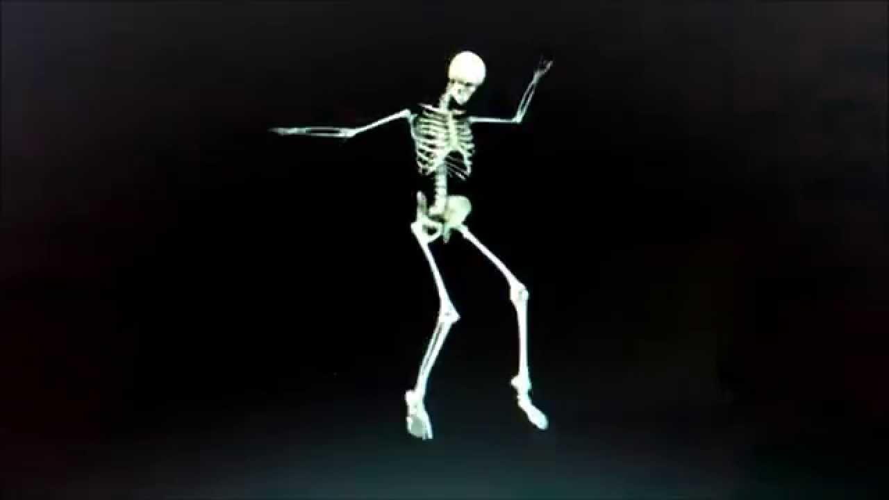 Skeleton dance skjelett dans youtube for Dans youtube