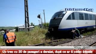 Tren deraiat Golesti Arges