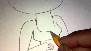 How to draw: barbie XD