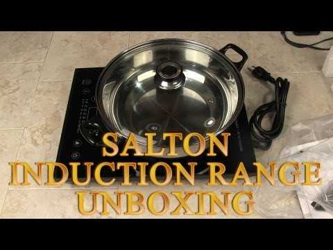 UNBOXING: Salton Portable Induction Cooker Unboxing