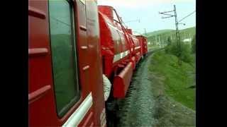 Клип Пожарный поезд