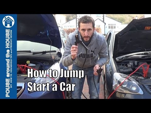 How to jump start a car with booster cables or jump leads. Start a flat car battery made easy!