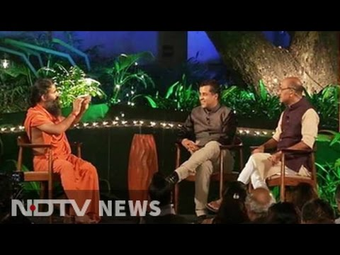 Shekhar Gupta, Chetan Bhagat In Conversation With Yoga Guru Ramdev