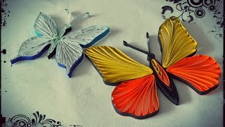 How to Make Quilling Butterfly - Quilling Tutorial