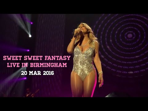 """HD Mariah Carey """"Sweet Sweet Fantasy Tour"""" (Full Show From Front Row)"""