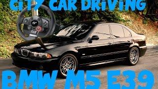City Car Driving na Logitech DFGT - BMW E39 M5 Drift!!!