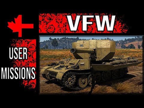 War Thunder - The VFW In Game