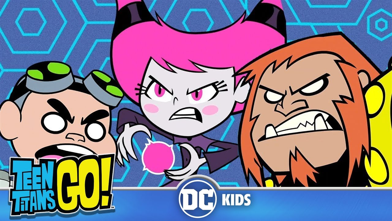 Teen Titans Go! | Top 10 H.I.V.E Five Moments |  DC Kids
