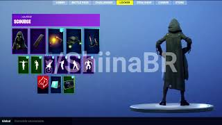 Nouveau SKIN LEAKED SCOURGE avec FULL SET Coming To FORTNITE