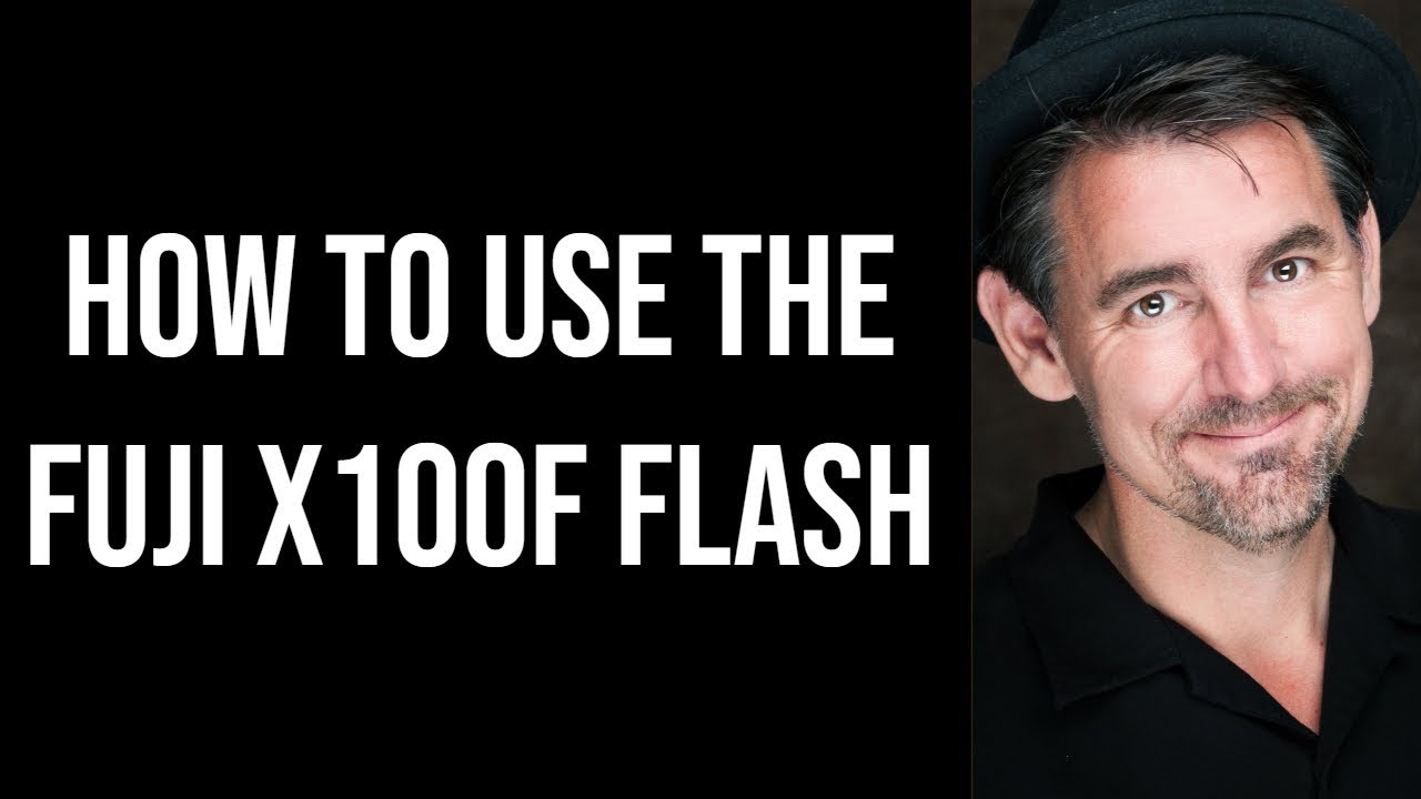How I use the flash on the Fuji X100F
