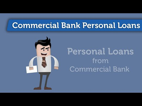Commercial Bank Personal Loans