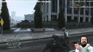 GTA Online Challenge: Kill Burke with a Plane