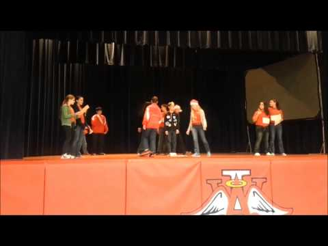 Incarnate Word Academy Middle Level Christmas Skits