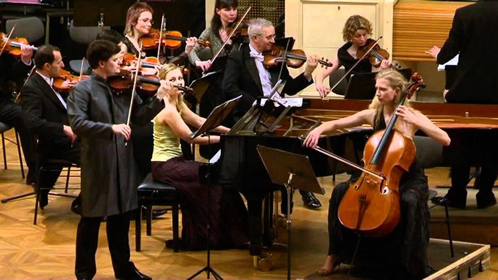 EBEN TRIO - Bohuslav Martinů - Concertino pro klavírní trio a smyčcový orchestr