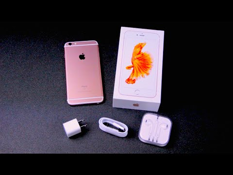 Rose Gold iPhone 6S Plus Unboxing