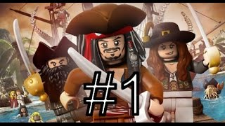 [PS3] LEGO Pirates Of The Caribbean. Прохождение #1 «Побег»