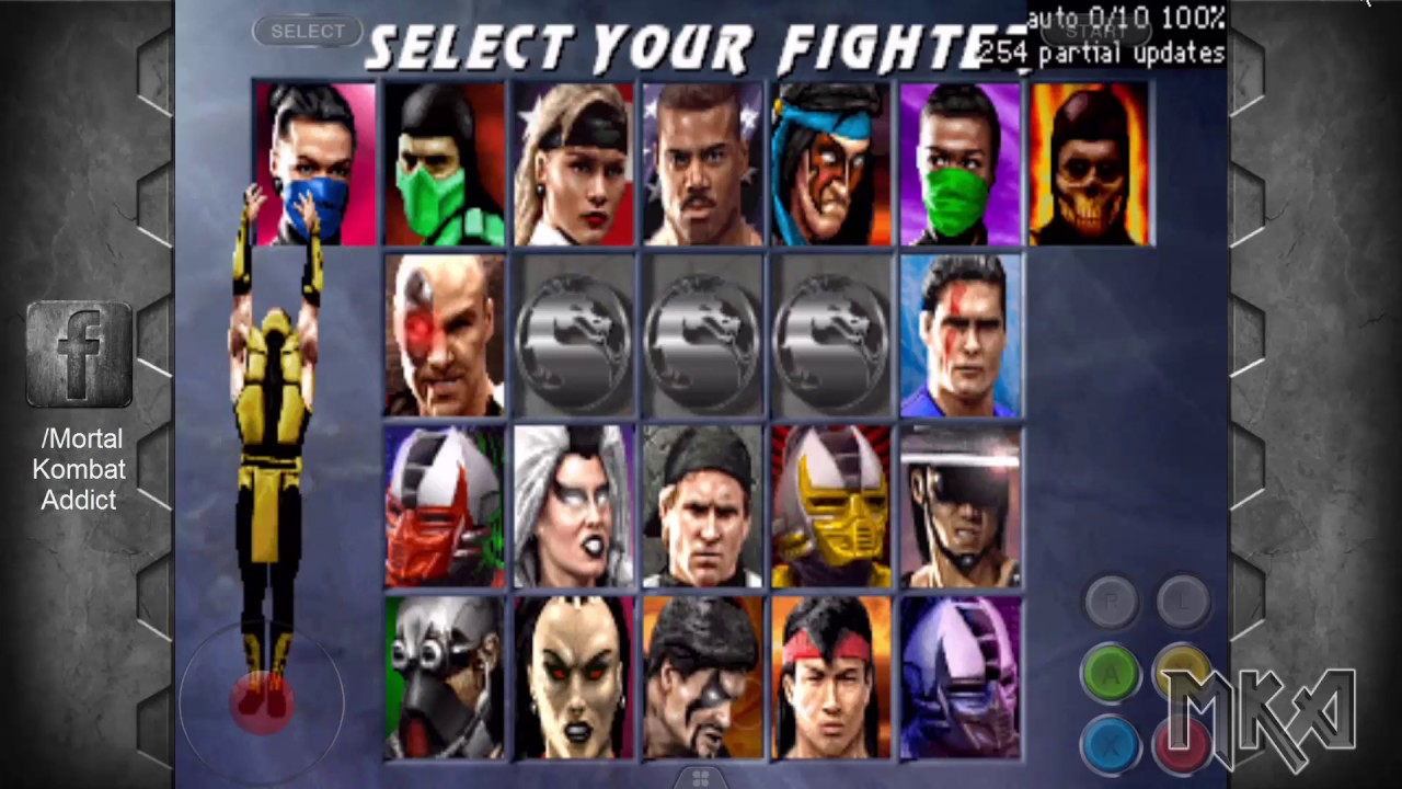Ultimate Mortal Kombat 3 Arcade (iOS Jailbreak MAME) with download link