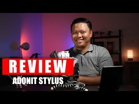 Pake Smartphone Butuh Stylus? Review Stylus Adonit