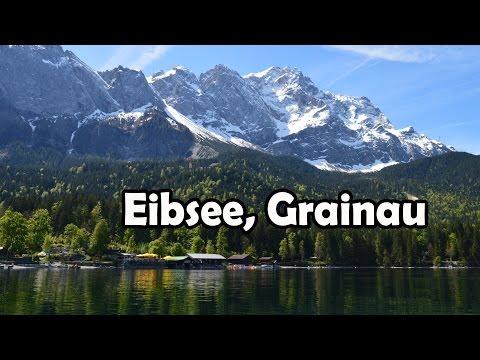 Picnic and Riding a Boat at Eibsee, Grainau