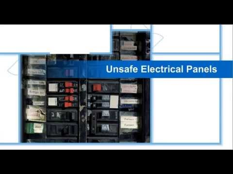 Load Centers - Unsafe electrical panels