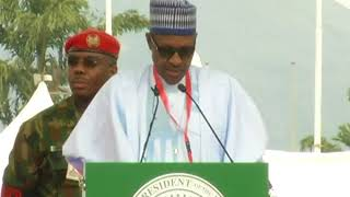 President Buhari's Speech at the APC National Convention