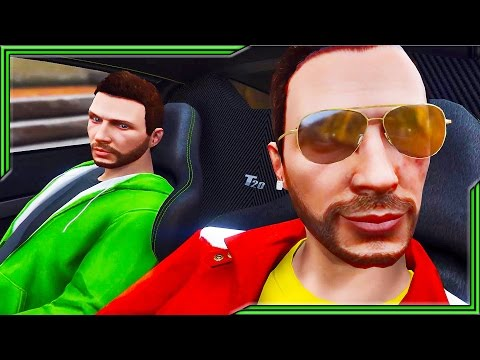 GRAND THEFT ALIEN!! Episode #5 - The Neighbor feat. JELLY! (GTA 5 CINEMATIC)