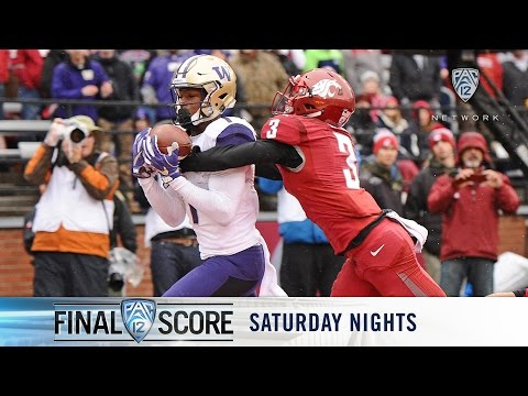 Highlights: Washington football wins Pac-12 North title, rolls over rival Washington State