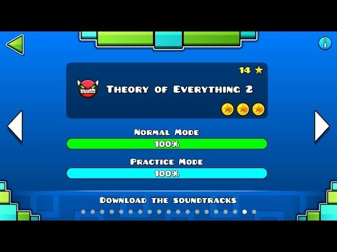 Geometry Dash - Level 18:Theory Of Everything 2 (All Coins)