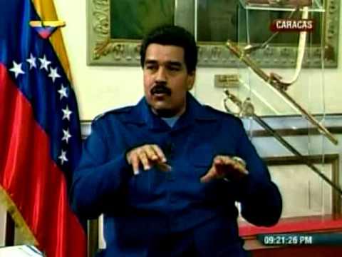 Maduro sobre Capriles y el CFG