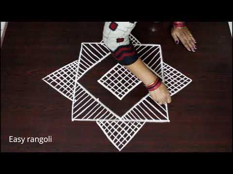 margazhi kolam designs with dots for  pongal | latest sankranthi dhanurmassam muggulu | easy rangoli
