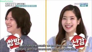 Video Heechul teased by Hani Defcon and looks awkward near dahyun, why? download MP3, 3GP, MP4, WEBM, AVI, FLV Januari 2018