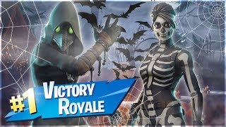 WINS WITH NEW SKINS! -Dansk Fortnite